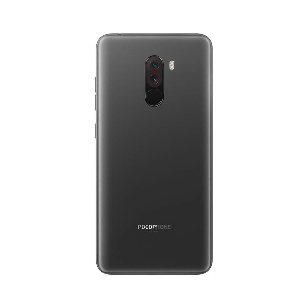 Xiaomi Pocophone F1 4g 64gb Dual Sim Black Eu Elektronik Slim Case Blackmatte Redmi 5a Silikon Matte