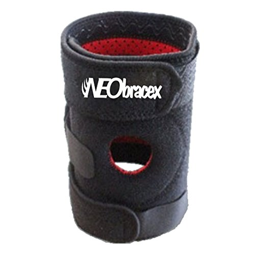 [ACL Knee Brace, Patella Stabilizer, Tendonitis Brace - Pain Relief for Repetitive Stress Injury. Fully Adjustable Knee Support by NEObracex (Black - Right Knee)] (Joseph From The Bible Costume)