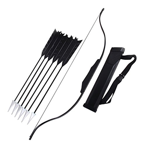 Mtxc Katniss Everdeen Cosplay Prop Toy Weapon Bow Black ()