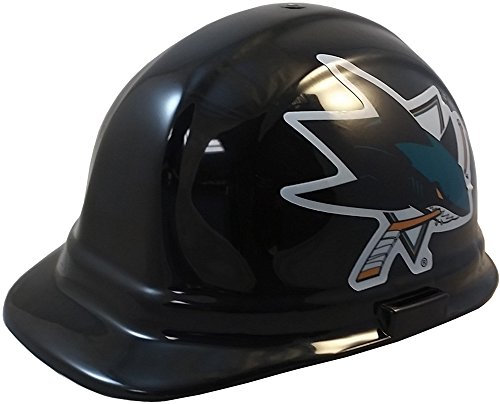 Wincraft NHL Hockey Ratchet Suspension Hardhats - San Jose Sharks Hard Hats