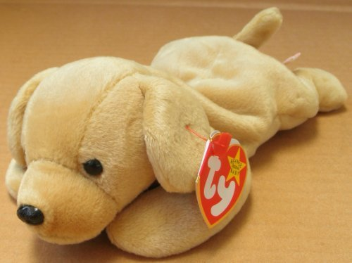TY Beanie Babies Fetch the Golden Retriever Dog Plush Toy Stuffed Animal from Unknown