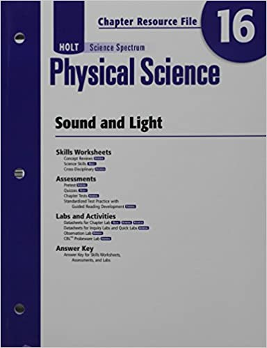 Amazon Holt Science Spectrum Physical Science With Earth And
