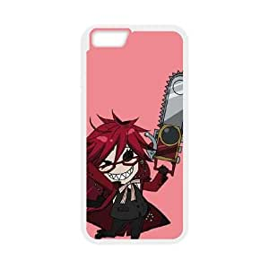 iPhone 6 Plus 5.5 Inch Cell Phone Case White Black Butler Grell JNR2144573