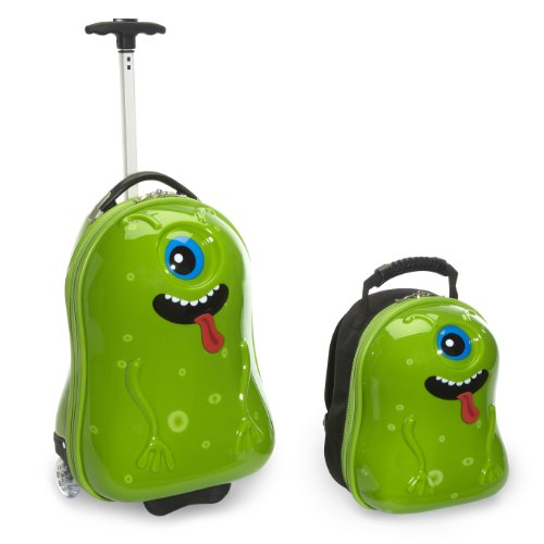 Travel Buddies Luggage Set, Archie Alien