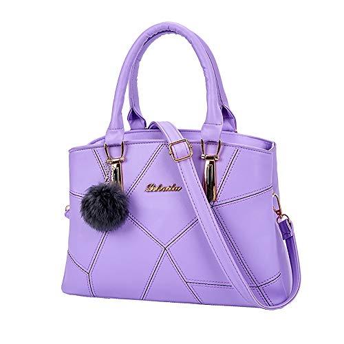(lmx+3f Fashion Bag for Women Girl Portable Mother Bag Shoulder Bag Messenger Bag Wild Handbag Totes Hat Bag Shell Bag)