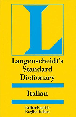 Langenscheidt's Standard Italian Dictionary (Langenscheidt Standard Dictionaries)