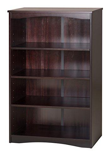 Camaflexi Essentials Wooden Bookcase, 48''H x 30''W x 12''D, Cappuccino by Camaflexi