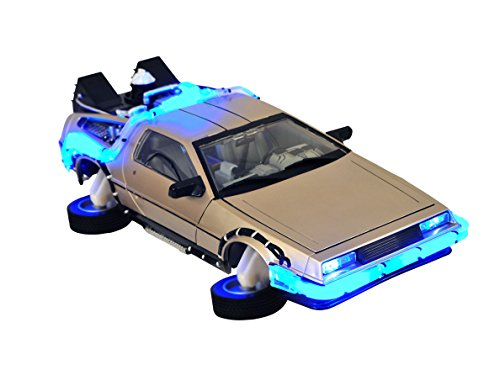 Diamond Select Toys Back To The Future 2 Hover Time Machine Electronic Vehicle (Vehicle Delorean)