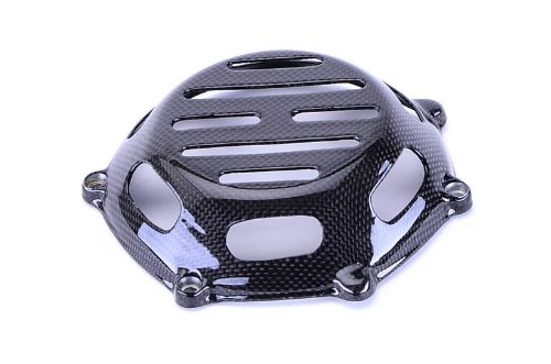- Bestem CBDU-999-CCO1-M Carbon Fiber Open Style 1 Dry Clutch Cover for Ducati