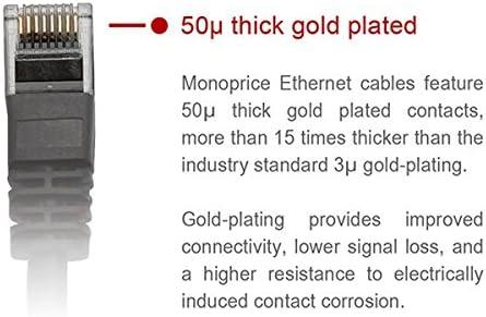 Monoprice 109858 câble de réseau 15,24 m Cat6 U/UTP (UTP) Violet - Câbles de réseau (15,24 m, Cat6, U/UTP (UTP), RJ-45, RJ-45, Violet)