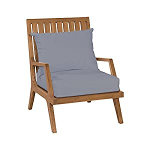 412m53OU%2BUL._SS300_ Teak Lounge Chairs & Teak Chaise Lounges