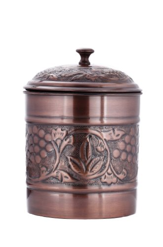 Heritage Collection 4 Quart Cookie Jar (Lid Cookie Ceramic Jar With)