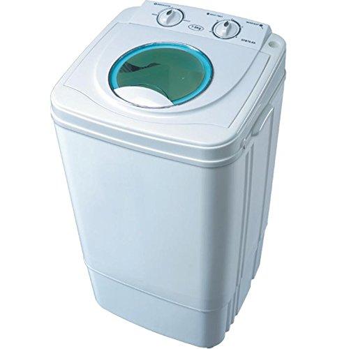 Syntrox Germany A 7 Kg Waschmaschine mit Schleuder Campingwaschmaschine Mini Waschmaschine [Energieklasse A]