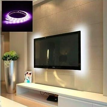 LED Light para televisor/TV en blanco cálido – Televisor Decoración/acogedora casa de muy fácil de instalar: Amazon.es: Electrónica