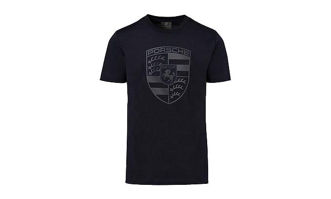 693a0aa70 Porsche Black Crest Men's T-Shirt