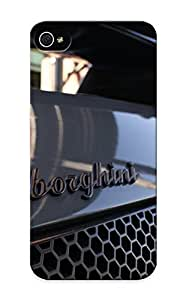 Af2a6df1666 Anti-scratch Case Cover Hotsummer Protective Cars Lamborghini Vehicles Sports Cars Black Cars Automobiles Italian Cars Case For Iphone 5/5s