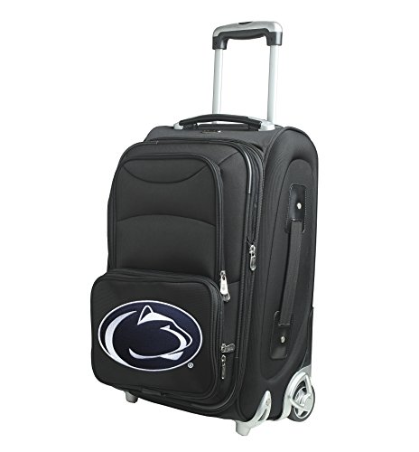 Denco NCAA Penn State Nittany Lions In-Line Skate Wheel Carry-On Luggage, 21-Inch, Black from Denco