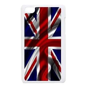 Grunge British Flag iPod Touch 4 Case White S4752900