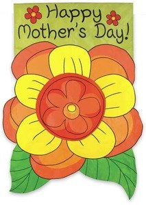 Regular Sized Flag Mother's Day Corsage ()