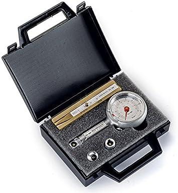 Reifendruckpr/üfer Reifendruckmesser mit Ablassventil 0-4 bar im Koffer Set