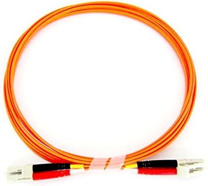 3 Meter LC//LC Multimode Duplex 50//125 Fiber Optic Cable LSZH