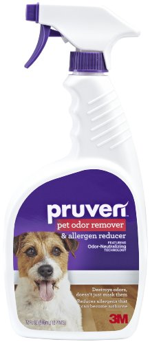 (Pruven P-OAR-32 Pet Odor Remover and Allergen Reducer with Trigger Spray, 32 Fluid Ounce)