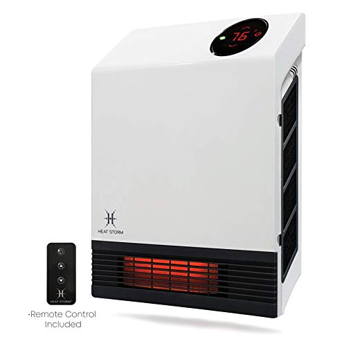 Heat Storm Deluxe Infrared Wall Heater, -