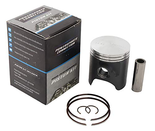 New Piston Kit Std Bore 44.45mm PC18-1019-B for Suzuki RM 65 03 04 05 06 2003 2004 2005 2006 by Powersports Connection (Image #4)