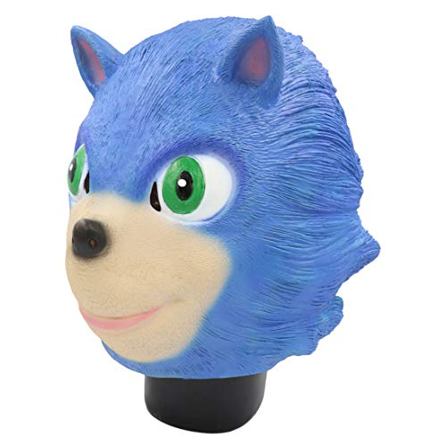 Bulex Sonic The Hedgehog Party Mask Toy for Cosplay (Sonic -