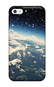 YEEOAgu2848Andhw Case Cover Protector For Iphone 5/5s Micro World Space Case