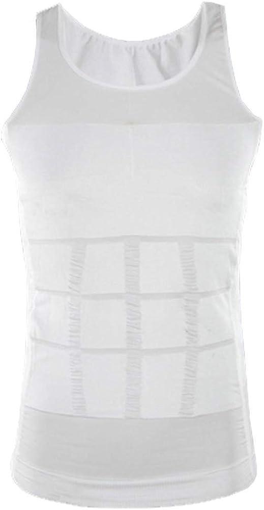 Home Health Spain Camiseta Faja Abdominal Entallada Reductora Moldeadora Quemagrasas Adelgazante para Hombre