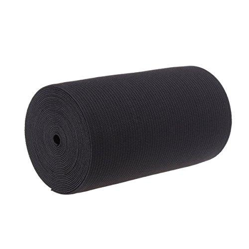 - 4-Inch Wide Black Heavy Knit Stretch ELASTIC 3 Yards by Prolastic