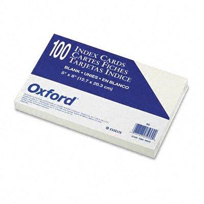ESS50 - Oxford Unruled Index Cards