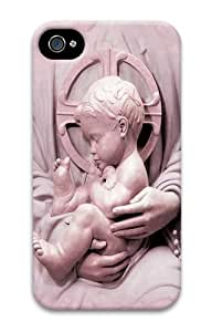Baby Jesus PC Case Cover for iPhone 4 and iPhone 4s 3D