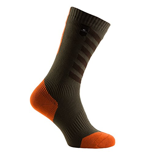 Unisex mud Hydro Adulto Calze With methyl Mtb Verde Thin Orange Sealskinz Stop Olive Mid dark w7p0qxUS