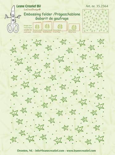 Embossing Folder Background Stars