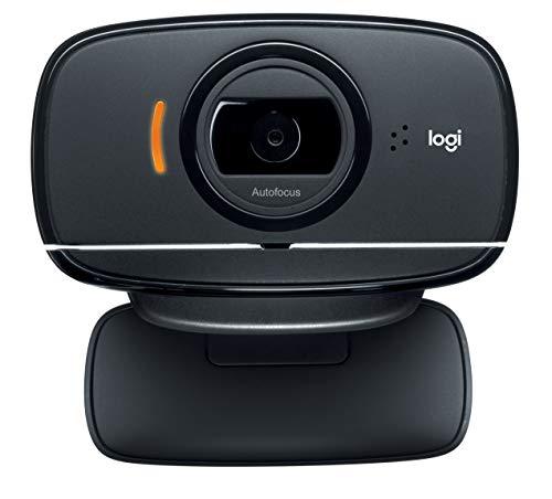 Webcam HD C525 com 8 MP para Chamadas e Gravações em Vídeo Widescreen, Rotação 360 Graus e Autofoco, Logitech, Webcams e Equipamentos de Voip