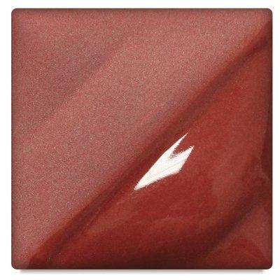 AMACO Velvet Lead-Free Non-Toxic Semi-Translucent Underglaze, 1 pt Jar, Red V-382 (Red Velvet Underglaze)