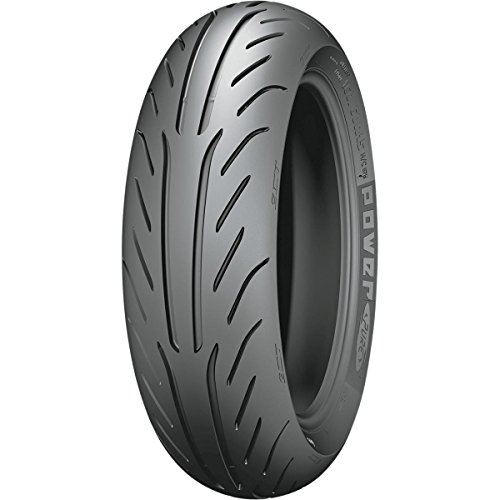 Michelin Power Pure SC Tire - Rear - 130/80-15 , Position: Rear, Rim Size: 15, Tire Size: 130/80-15, Tire Type: Scooter/Moped, Load Rating: 63, Speed Rating: P, Tire Construction: Bias 19204 by MICHELIN