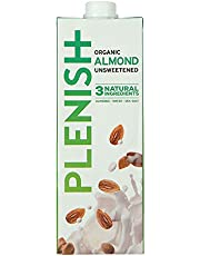 Plenish Organic Unsweetened Almond Milk, 1L