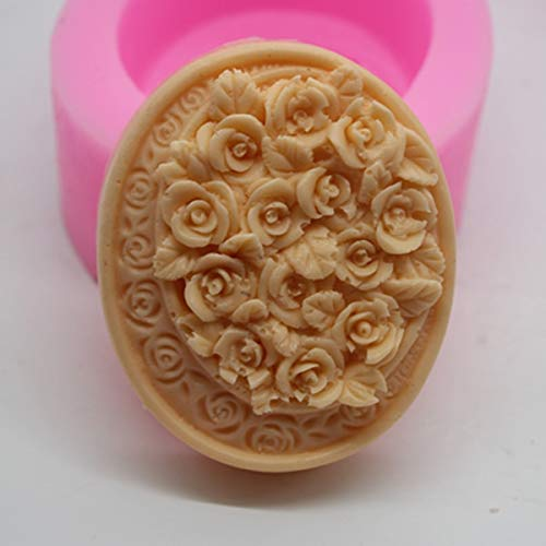 Chocolate Mould - C477 Rabbit Silicone Soap Handmade Food Chocolate Moulds - Puzzle Paint Plaque Chocolate Shoes Butter Brush Purse Heart Piece Mermaid Mould Molds Cookies Baby Peanut Lolli