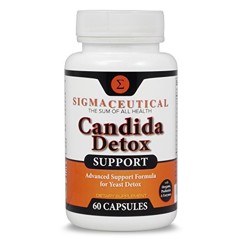 Candida Cleanse - Yeast InfectiOral Thrush Treatment - Non-GMO Probiotic Support - Ultimate Cleanser for Men and Women - Free Candida Diet eBook - 60 Capsuleson Treatment -
