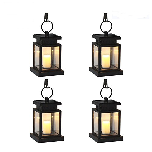 Ordinaire [Pack Of 4]eSavebulbs Outdoor LED Solar Light,Solar Powered Waterproof  Hanging Umbrella Lantern Garden Lighting Candle Lights Led With Clamp Beach  Umbrella ...