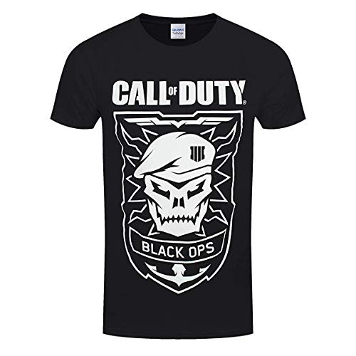 Call of Duty Black Ops 4 T-Shirt Skull Size L Shirts