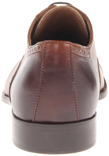 Donald J Pliner Mens Sachar Oxford Tan Vitello