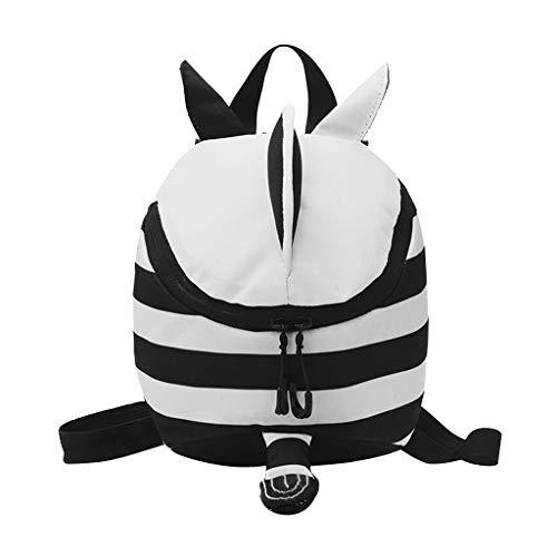 Children Baby Girls&Boys Kids Cartoon Animal Backpack Toddler School Bag White -