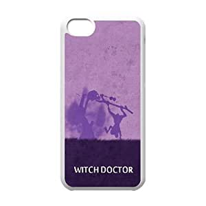 iPhone 5c Cell Phone Case White DOTA 2 Witch Doctor LV7961001
