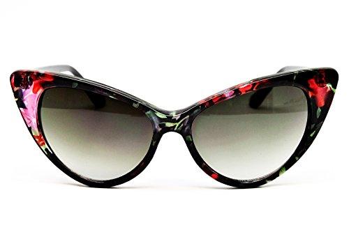 Wm508-vp Style Vault Cateye Sunglasses (KFW #3 Lavender/Black, uv400)