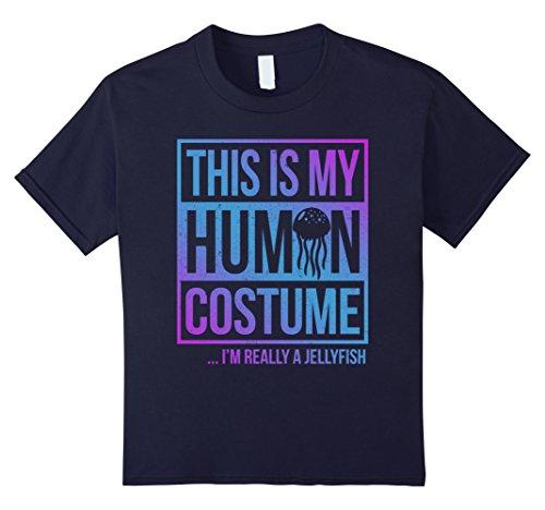 Kids Jellyfish costume shirt this is my human costume 10 (Jellyfish Costume For Kids)