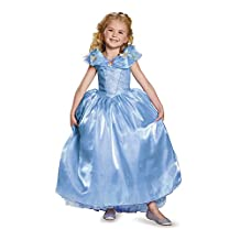 Disguise Costumes Cinderella Ultra Prestige Costume, Large (10-12), One Color